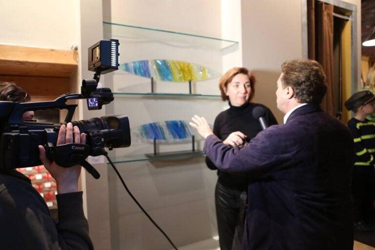 Interview architectural glass artist Victoria Balva