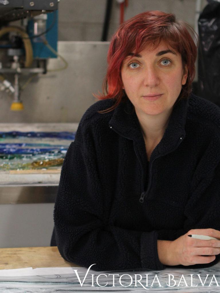 Victoria Balva / glass artist. Victoria Balva Glass Studio