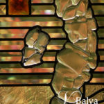 Contemporary art glass design for stained and leaded glass windows