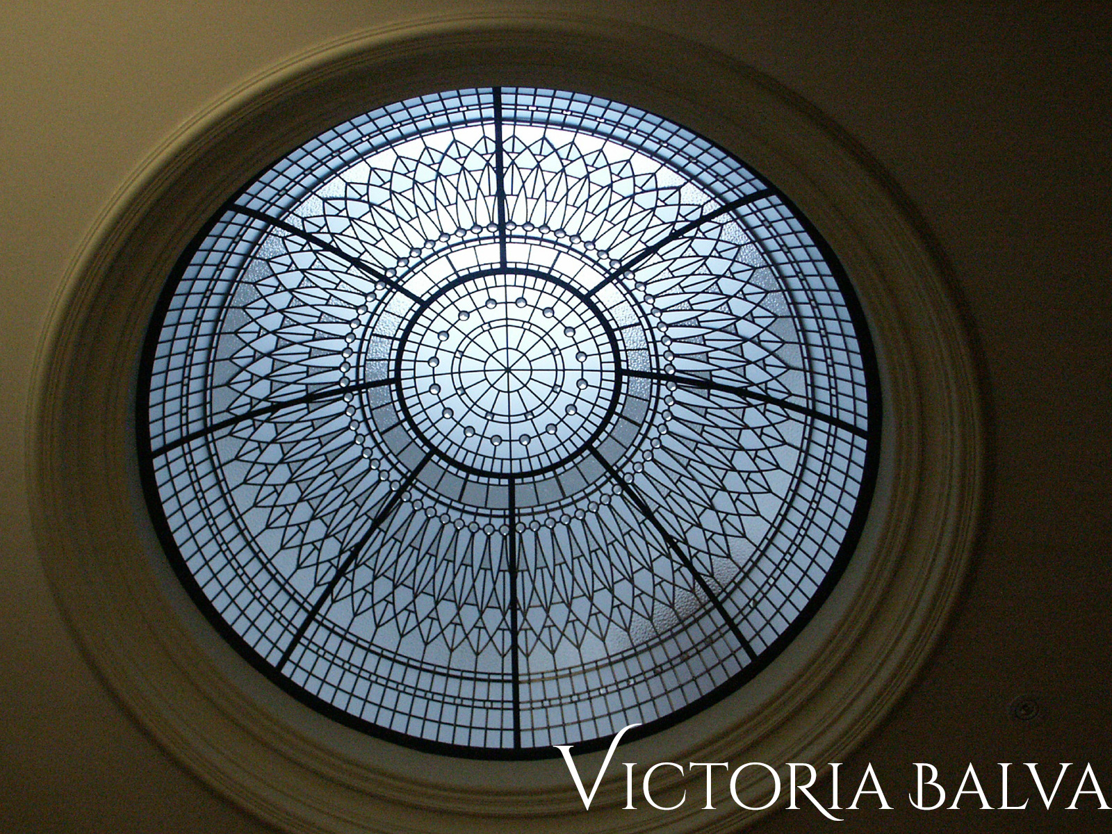 Stained And Leaded Gl Dome