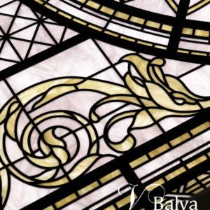 Beautiful decorative glass skylights 1